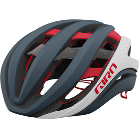 Giro Aether MIPS Casque, matte portaro grey/white/red